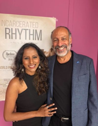 Indrani and Derek at Incarcerated Rhythm_World Premiere May5 2018 2