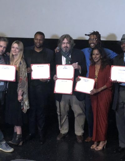 With all the winners of Harlem Film Festival 2018